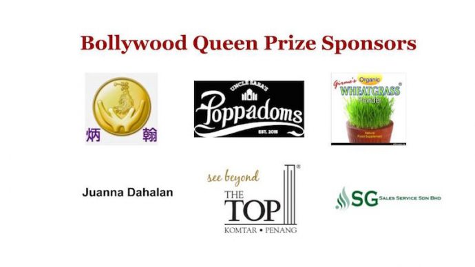 Bollywood Queen sponsors
