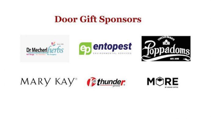 Door Gift sponsors