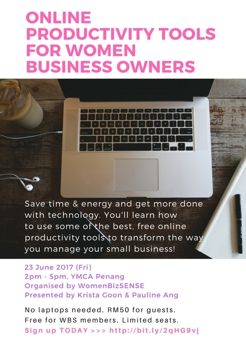 productivity tools for business talk by krista goon